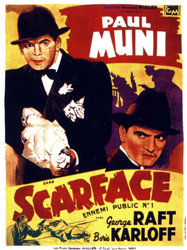 scarface the shame of the nation The american gangster film scarface: the shame of a nation (1932) is loosely based on the rise of al capone it was an early success for both director howard hawks.